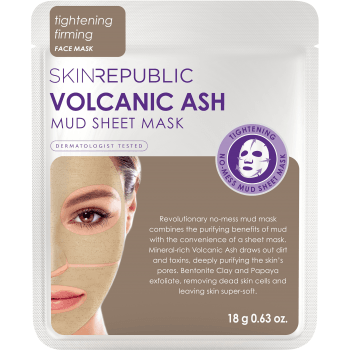 Skin Republic Volcanic Ash Mud Sheet Mask
