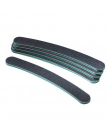 Black Boomerang Nail Files 180 x 6