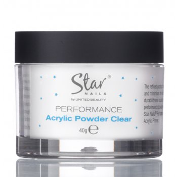 Star Nails Performance Clear Powder 40gm