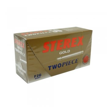 Sterex Gold Two Piece Needles F2G Short x50