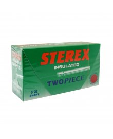 Insulated Two Piece Needles F2I Short x50