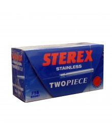 Sterex Stainless Steel 2 Piece Needles F5S