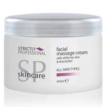 Strictly Professional Facial Massage Cream 450ml