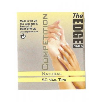 The Edge Natural Competition Tips Size 1 x 50
