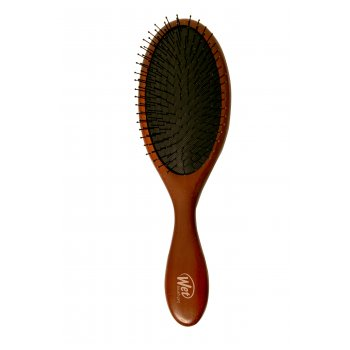 The Wet Brush Pro Naturals Dark Wood Detangling Hair Brush