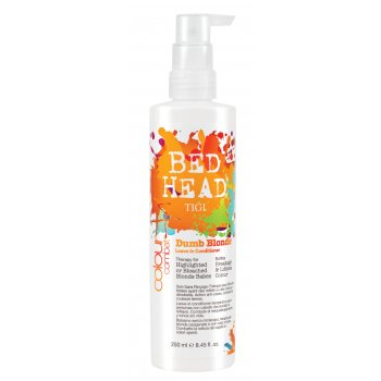 TIGI Bed Head Dumb Blonde Colour Combat Leave In Conditioner 250ml