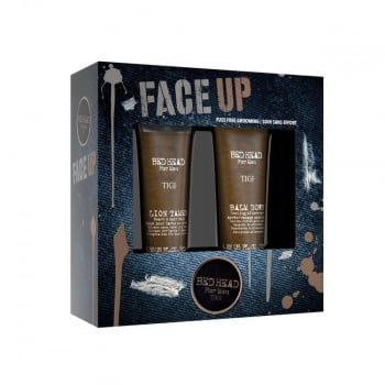 TIGI Bed Head For Men Face Up Gift Pack 2017