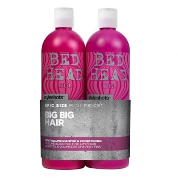 TIGI Bed Head Styleshots Epic Volume Tween Twin 750ml Pack