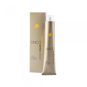 Unico DifferentColor 7.43 Medium Golden Copper Blonde 100ml