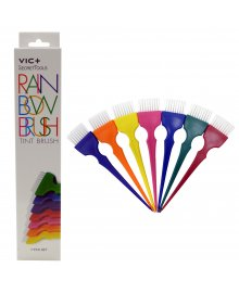 Rainbow Tint Brushes 7 Piece Set
