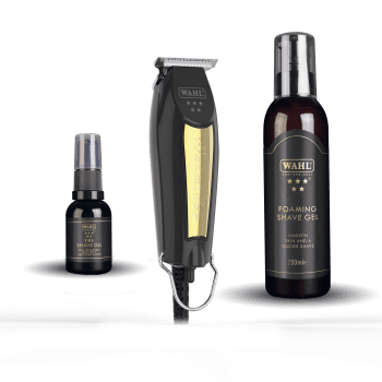 Wahl Black & Gold Detailer Trimmer Kit Limited Edition