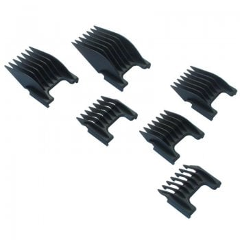 Wahl Plastic Slide-On Attachment Comb Set Of 6