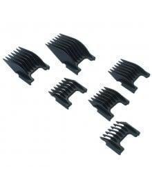 Plastic Slide-On Attachment Comb Set Of 6