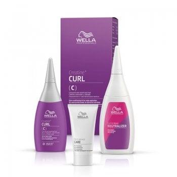 Wella Creatine+ CURL For Coloured & Sensitized Hair Kit