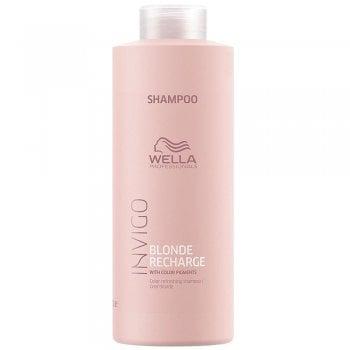 Wella Invigo Blonde Recharge Shampoo Cool Blonde 1000ml