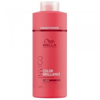 Wella Invigo Color Brilliance Conditioner For Coarse Hair 1000ml