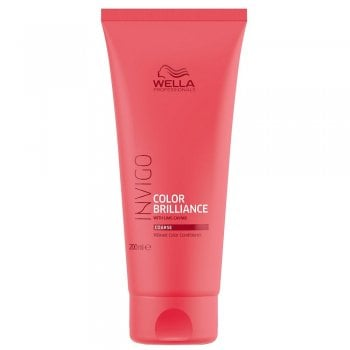Wella Invigo Color Brilliance Conditioner For Coarse Hair 200ml