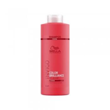 Wella Invigo Color Brilliance Shampoo For Coarse Hair 1000ml