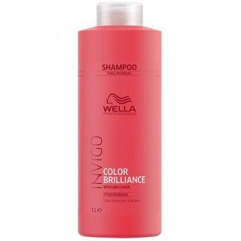Wella Invigo Color Brilliance Shampoo For Fine/Normal Hair 1000ml