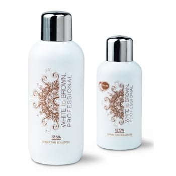WHITE to BROWN DHA Spray Tan Solution 12.5%