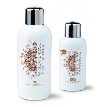 WHITE to BROWN DHA Spray Tan Solution 16%