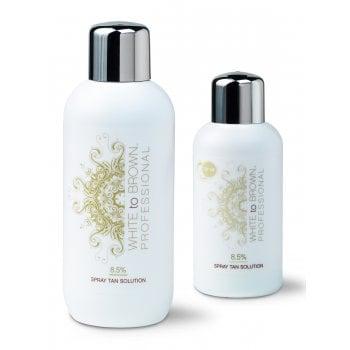 WHITE to BROWN DHA Spray Tan Solution 8.5%