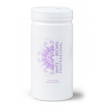 WHITE to BROWN Sunless Tan Remover Wipes