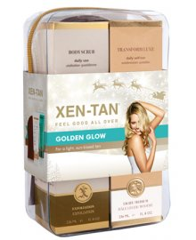 Golden Glow Tanning Christmas Gift Set